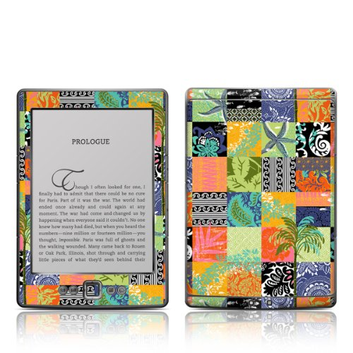 Decalgirl Kindle Skin - Tropical Patchwork from DecalGirl