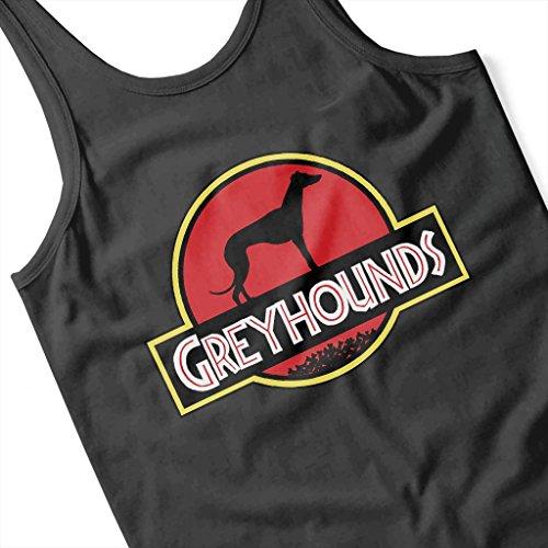 Logo Jurassic Vest Greyhounds Mix Park Women's Coto7 x0qt8x