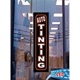 Auto Tinting LED Light Up Sign