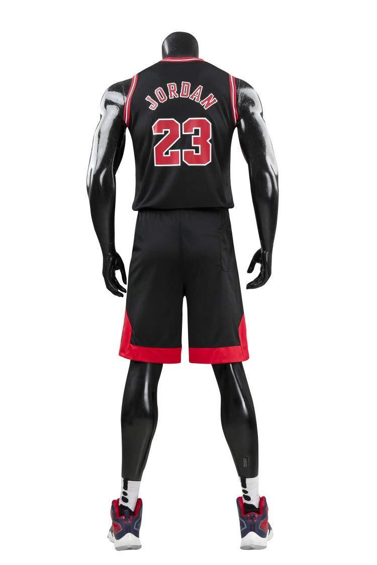 Camiseta de Baloncesto de Verano NBA Michael Jordan # 23 ...