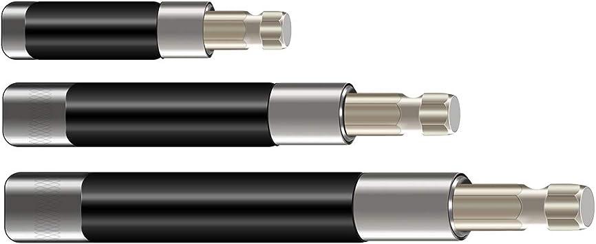 "1//4/"" Hex Shank Screwdriver Extension Bit Holder Rod Adapter Industrial Hand Tool"