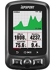 GPS Compteur vélo sans fils ANT + Fonction iGPSPORT iGS618 avec la navigation de carte routière IPX7 imperméable à l'eau (afficher en français)