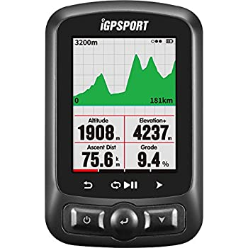 Image of iGPSPORT GPS Bike Computer ANT+ Function iGS618 Cycle Computer with Road Map Navigation Waterproof IPX7