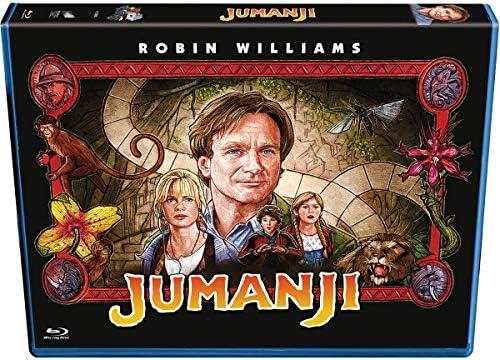 Jumanji - Edición Horizontal [Blu-ray]: Amazon.es: Robin Williams ...