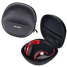 JH Spare Hard Case Bag Box Pouch For Logitech G35 G930 G430 F450 G230 / Razer Kraken PRO / HyperX Cloud Gaming Headset (KHX-H3CL/WR)