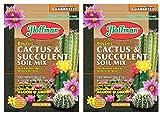 Hoffman 10410 Organic Cactus and Succulent Soil Mix, 10 Quarts (2-(Pack))
