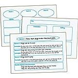 Writing Graphic Organizer Dry Erase Boards - Set of 3