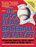 The Elias Baseball Analyst 1992, Seymour Siwoff and Steve Hirdt, 0671733265