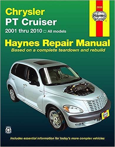 chrysler pt cruiser (01-10) haynes repair manual: haynes: 9781563929632:  amazon.com: books  amazon.com
