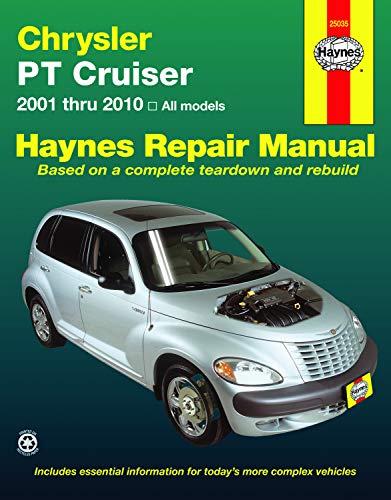 Chrysler PT Cruiser (01-10) Haynes Repair Manual (Best Brake Rotor Material)
