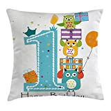 1st Birthday Decorations Throw Pillow Cushion Cover - Best Reviews Guide
