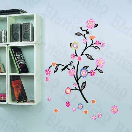 Swing Flowers - Wall Decals Stickers Appliques Home Decor Blancho Bedding