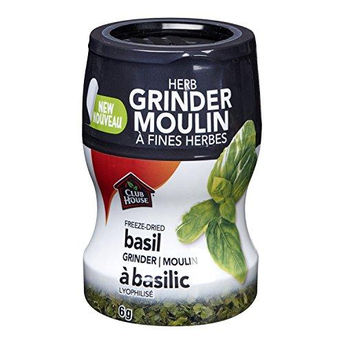 Club House Freeze Dried Basil Herb Grinder 6g