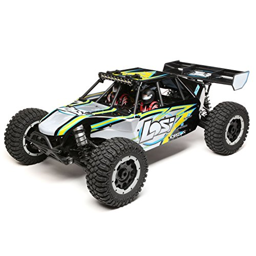 Losi Team Rtr (Team Losi 1/5 Desert Buggy XL-E 4WD Brushless RTR with AVC, Black)