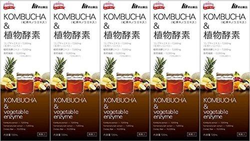 【5本セット】KOMBUCHA&植物酵素 720mL   B07CKYBDYW