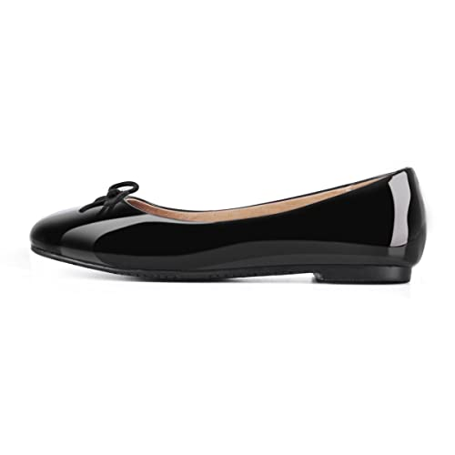 4ae3ac0106f93 Amazon.com | Onlymaker Women Round Toe Ballet Flats with Bowknot ...