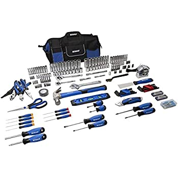 kobalt 227-piece standard/metric mechanics tool set with case 85183 ...