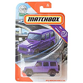 Matchbox Highway 2015 Mercedes Benz G 550 49/100, Purple