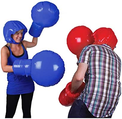 Amazon.com: Inflable Boxeo Set: Toys & Games