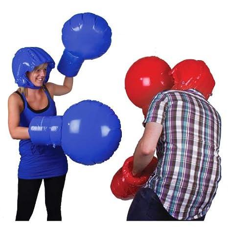 El boxeo peso pluma inflable Boxeo Juego de peso pesado: Amazon.es ...