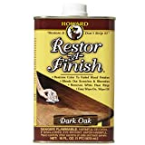 Howard RF7016 Restor-A-Finish, 16-Ounce, Dark Oak