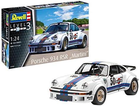 ドイツレベル 1/24 ポルシェ 934 RSR マルティニ プラモデル 07685