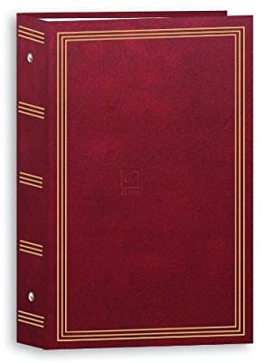 "Pioneer Photo Albums STC-504/NB 3-Ring Photo Album with 504 Pockets Hold 4 x 6"" Photos, Navy Blue from Pioneer"