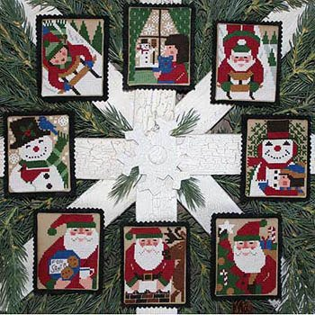 Holly Days Cross Stitch Pattern