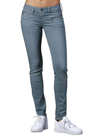 Freeman T Porter - Pantalon - Slim - Femme Bleu Stormy Weather - Bleu - XS ed2f0b51a9f6