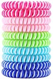 Liquid Pet [New 2019 2X Strength Mosquito Repellent Bracelets, Citronella Bug Bands, Insect Wristbands for Camping, Hiking, Outdoors, BBQs