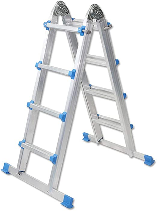 LMLSH Escalera Escalera Multifunción De Aleación De Aluminio ...