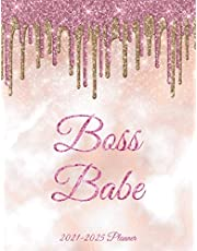 Boss Babe Five Year Planner: 60 Months Calendar, 5 Year Appointment Calendar, Business Planners, Agenda Schedule Organizer Logbook and Journal