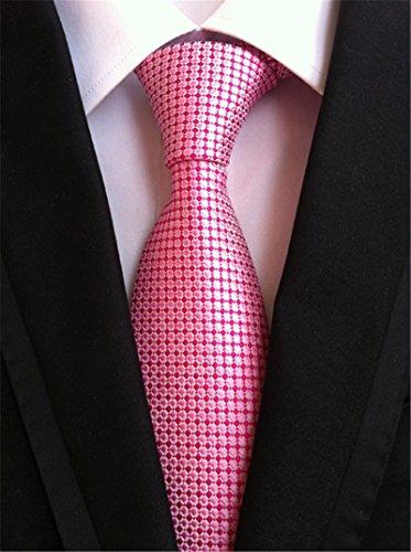Welen Lot 9 PCS Classic Men's Tie Necktie Woven JACQUARD Neck Ties (Style 08)
