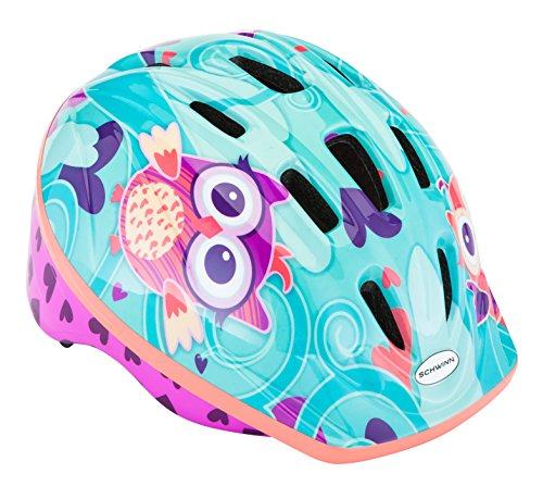 Schwinn Owl's Classic Toddler Helmet (Best Bike Helmet For 1 Year Old)