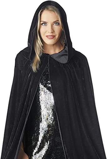 Seasons Women Iridescent Hood//Cape Black