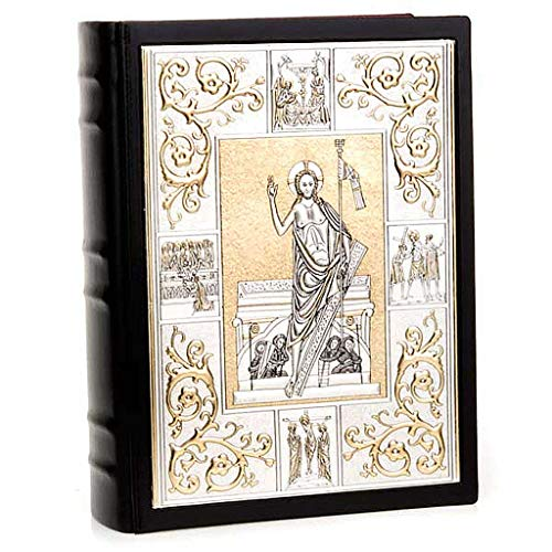 Lectionary Cover - Holyart Lectionary Cover in Leather with Double Plaque