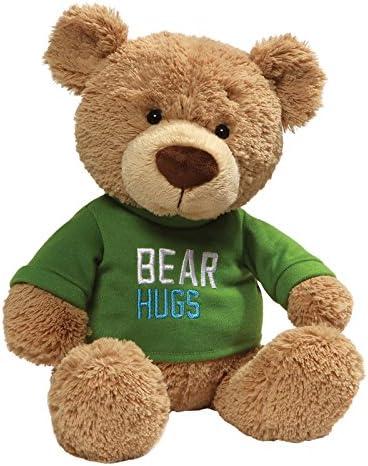 GUND Green T Shirt Stuffed Animal