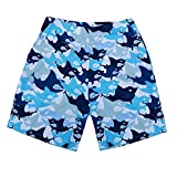 NUWFOR Baby Boys Swimwear Running Surfing Sports Beach Shorts Trunks Board Pants(Blue-Kid,4-5Years)