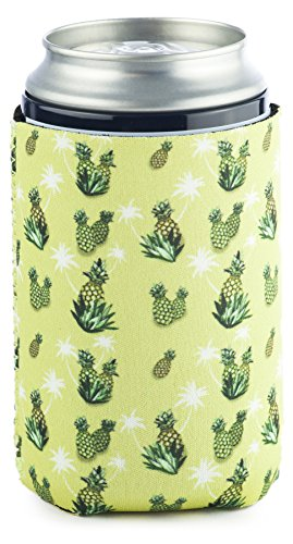 Funny Guy Mugs Pineapple Collapsible Neoprene Can Coolie - Drink Cooler (Last Mission Insulated Jacket)