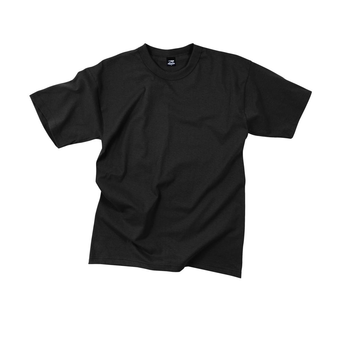 Rothco T-Shirt -100% Cotton/Black, X-Large