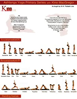 Amazon.com : Ashtanga Yoga Primiary Series Practice Card ...