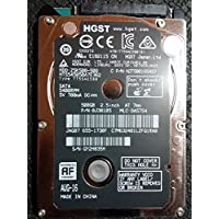 HGST HTS545050A7E362 P/N: 0J38105 MAC 655-1730F MLC: DA5754 Hitachi 500GB 2.5 SATA Hard Drive for Macbook Pro 2012 and previous