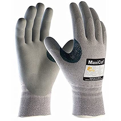 ATG MaxiFlex Ultimate /& MaxiDry Breathable Nitrile Coated Hand Protection Gloves