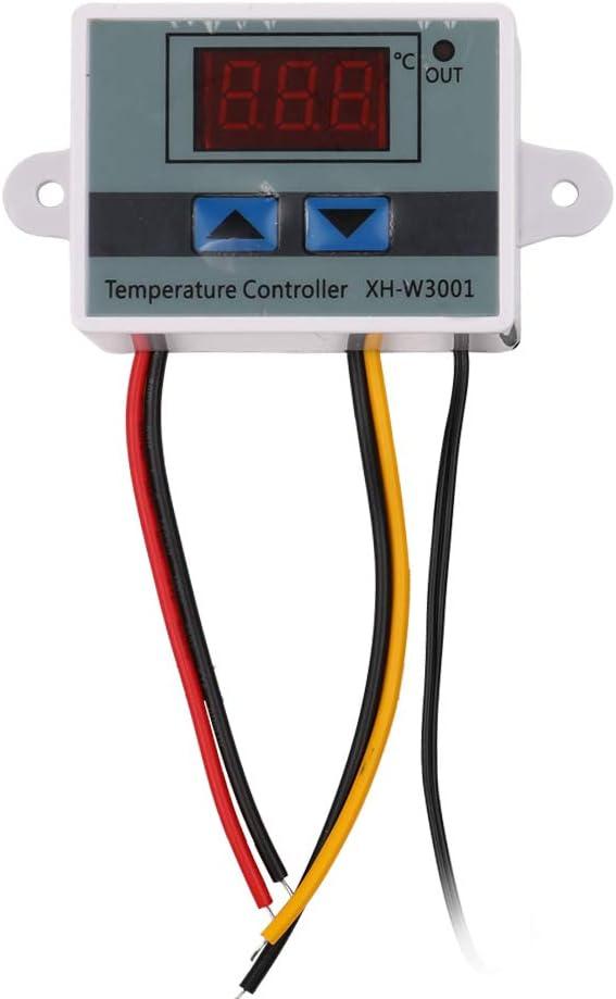 KK moon XH-W3001 Digital LCD Display Temperature Controller Microcomputer Thermal Regulator Thermocouple Thermostat Temperature Controller