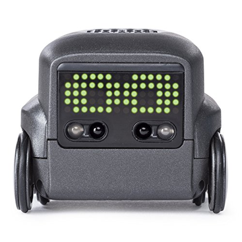 Boxer – Interactive A.I. Robot Toy (Black) with Remote Control, For Ages 6 & Up