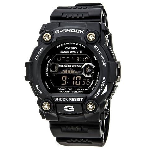 Casio Men's GW7900B-1 G-Shock Black Solar Sport Watch (Mens Digital Sports Watch G Shock)