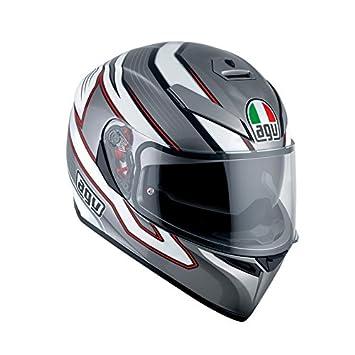 AGV k3-sv DVS Full Face casco de moto motocicleta tapa – mizark gris/
