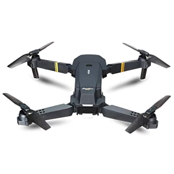 ZFLIN Dron Remoto Quadcopter Drone Plegable: Amazon.es: Juguetes y ...