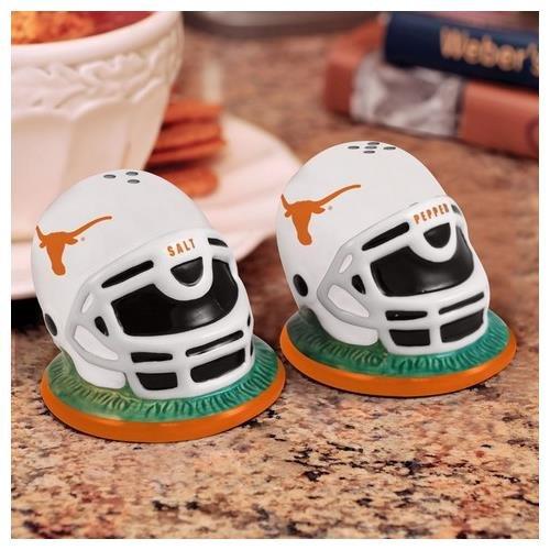 NCAA University of Texas Helmet Salt and Pepper Shakers