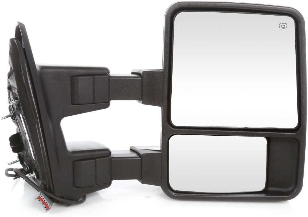 Prime Choice Auto Parts KAPFO1320342PR Set of Driver Passenger Power Heated Signal Mirrors 2